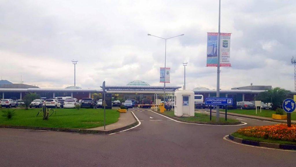 Дорога при подъезде к аэропорту, Международный аэропорт Батуми, Грузия