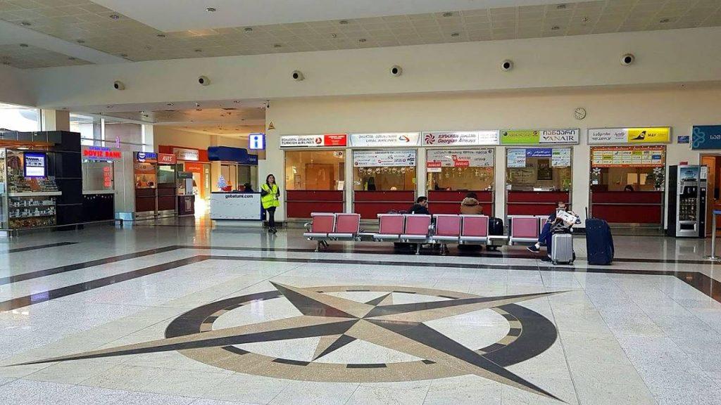 Центральный холл терминала в Батуми, Международный аэропорт Батуми, Грузия