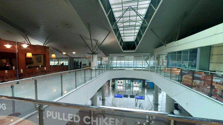 Зал ожидания вылета, Аэропорт Тбилиси, Грузия
