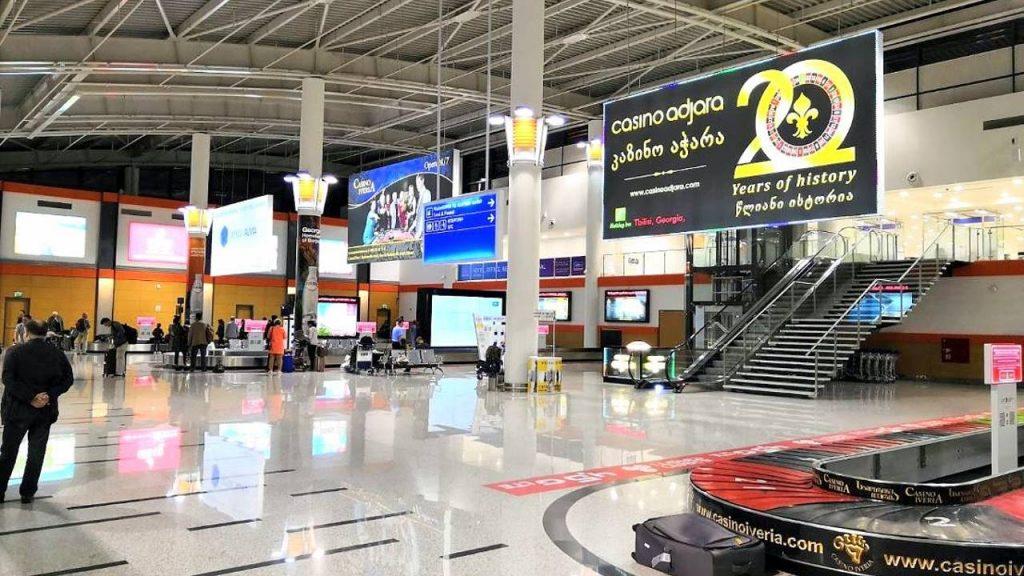 Зал получения багажа, Аэропорт Тбилиси, Грузия