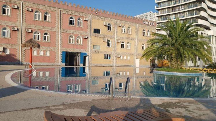 Здание входа/выхода в аквапарк, Аквапарк, Батуми, Грузия