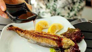 Блюда ресторана Теремок, Аквапарк, Батуми, Грузия