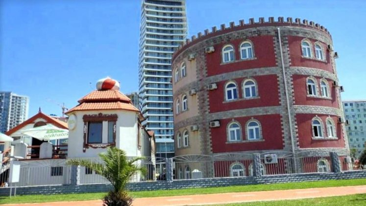 Europark Palace Hotel, пляжи Батуми, Грузия,
