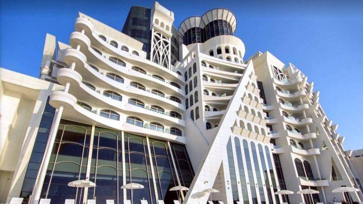 The Grand Gloria Hotel, городской пляж, Батуми, Грузия