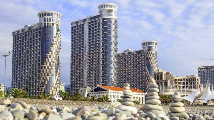 Апартамент-центр Orbi Sea Towers, городской пляж, Батуми, Грузия