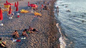 , городской пляж, Батуми, Грузия