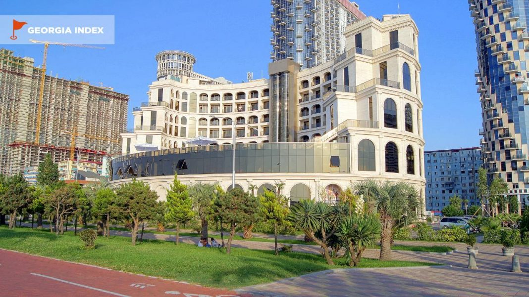 Общий вид отеля, Colosseum Marina Hotel, Батуми, Грузия