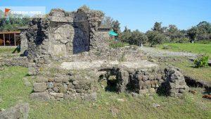 Древние помещения на территории крепости, Крепость Гонио, Грузия