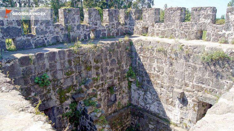 Стены крепости, Крепость Гонио, Грузия