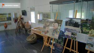 Экспозиция в музее крепости, Крепость Гонио, Грузия
