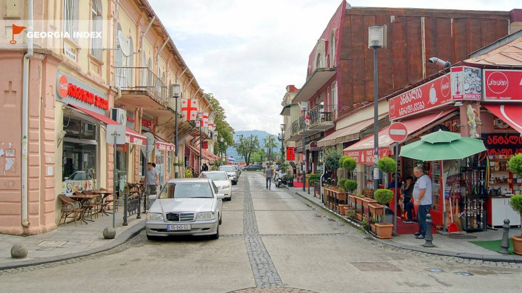 Улицы старой части Батуми , старый город Батуми, Грузия