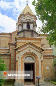 Армянский Апостольский храм в Батуми, старый город Батуми, Грузия