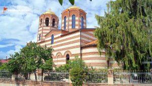 Здание церкви Св. Николая, старый город Батуми, Грузия