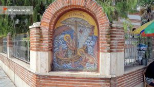 Старинные мозаики, старый город Батуми, Грузия