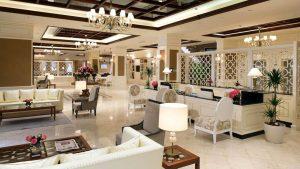 Холл отеля для отдыха гостей, Отель Divan Suites Batumi, Батуми, Грузия