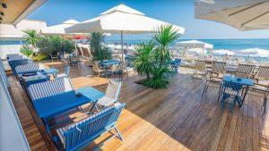 Летняя терраса ресторана Iveria Beach, Отель Divan Suites Batumi, Батуми, Грузия