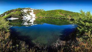 Горная местность парка Кинтриши, Кобулети, Грузия