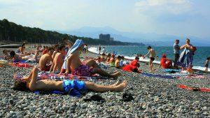 Отдых на пляжах Кобулети, Кобулети, Грузия