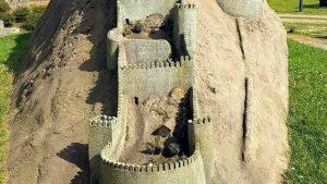 Стена замка в миниатюре, Кобулети, Грузия