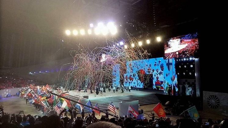 Сцена в Black Sea Arena, Кобулети, Грузия