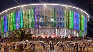 Здание для концертов Black Sea Arena, Кобулети, Грузия