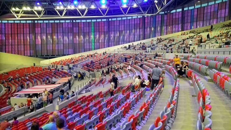 Зал Black Sea Arena, Кобулети, Грузия