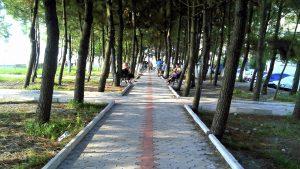 Дорожка для прогулок вдоль пляжа, Кобулети, Грузия