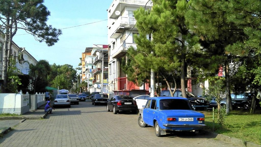 Улицы города, Кобулети, Грузия