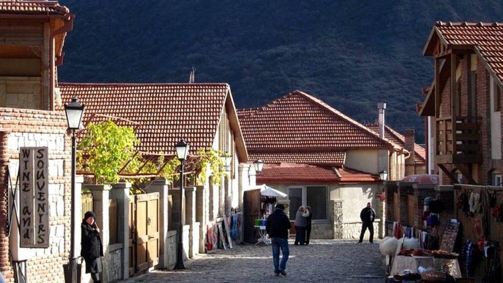 Улицы города Мцхета, Мцхета, Грузия