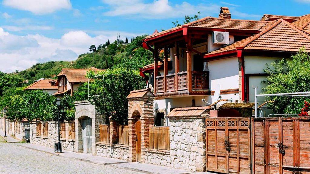 Дома и улицы города Мцхета, Мцхета, Грузия