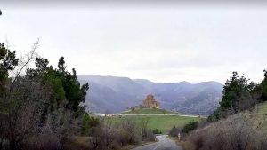 Дорога к храму Джвари, Мцхета, Грузия