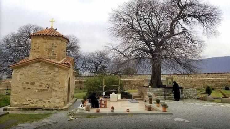 Территория монастыря Самтавро, Мцхета, Грузия