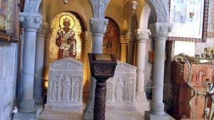 Гробницы царя Мириана III и его жены Наны в монастыре Самтавро, Мцхета, Грузия