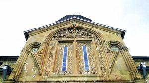 Величественные своды монастыря Самтавро, Мцхета, Грузия