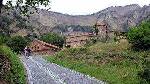 Дорога к Шио-Мгвимскому монастырю, Мцхета, Грузия