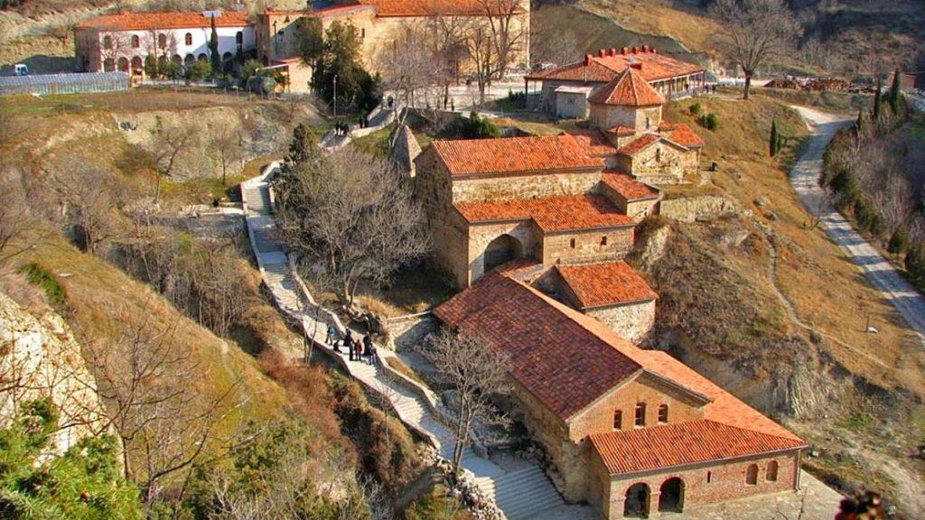 Общий вид Шио-Мгвимского монастыря, Мцхета, Грузия