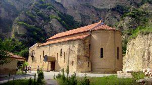 Шио-Мгвимский монастырь в горном ущелье, Мцхета, Грузия