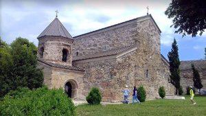 Здание Зедазенского монастыря, Мцхета, Грузия