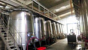 Изготовление вин по европейским стандартам на винодельне Шато-Мухрани, Мцхета, Грузия