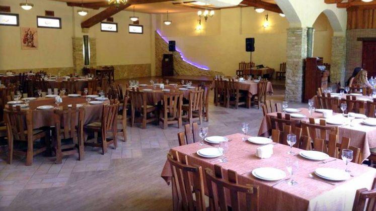 Зал ресторана Armazis Kheoba, Мцхета, Грузия