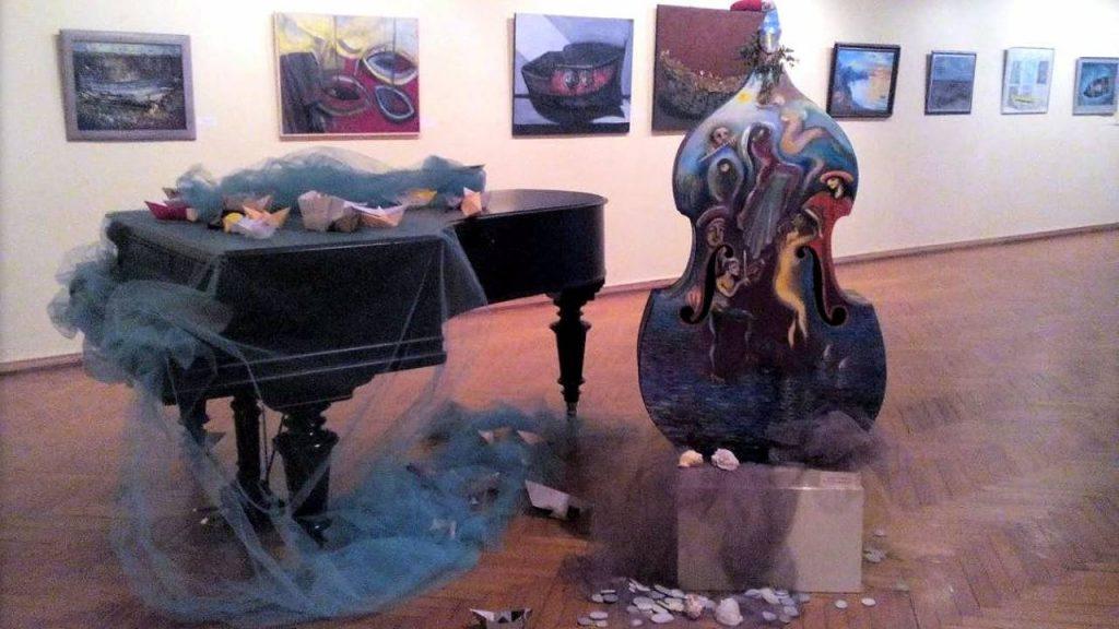 Временные выставки в музее искусств, музей искусств Аджарии, Батуми, Грузия