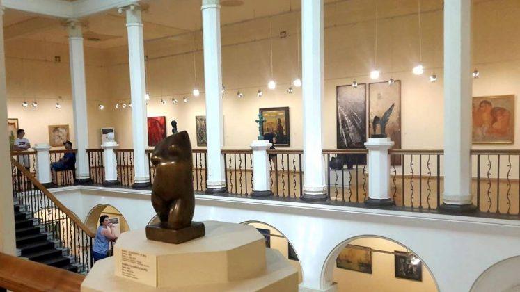 Выставочный зал музея искусств, музей искусств Аджарии, Батуми, Грузия