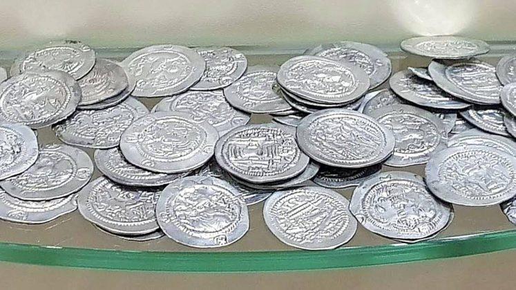 Древние серебряные монеты, Археологический музей Батуми, Грузия