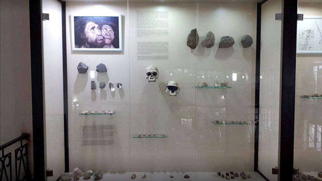 Находки с каменного века, Археологический музей Батуми, Грузия