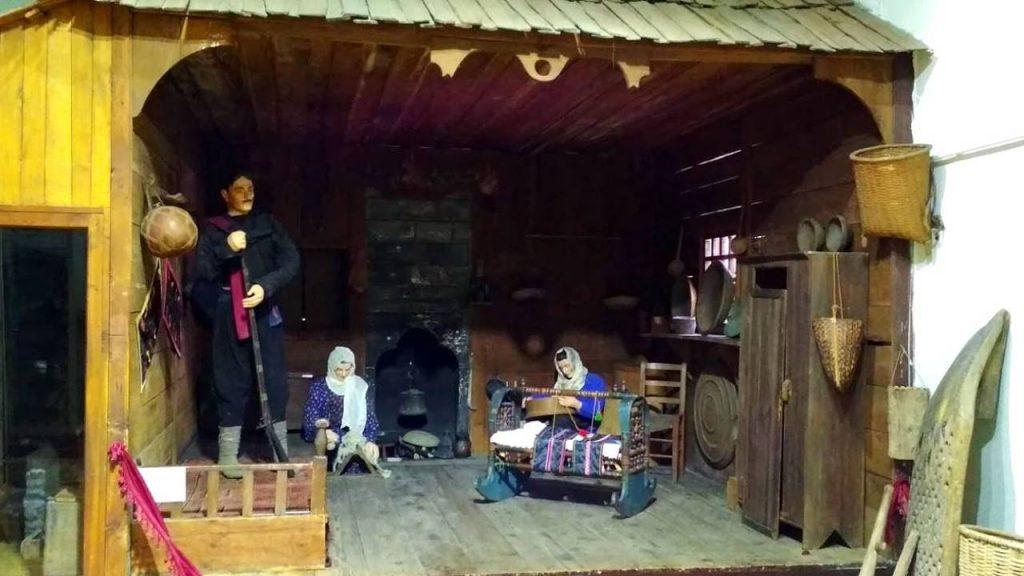 Быт Аджарии XIX века, Краеведческий музей Аджарии, Батуми, Грузия