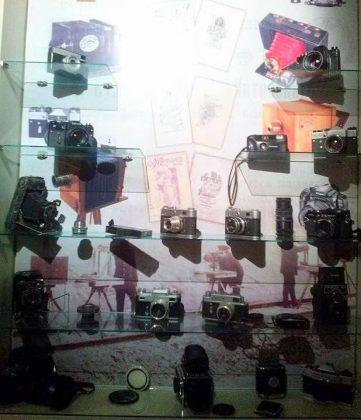 Экспонаты камер, Технологический музей, Батуми, Грузия