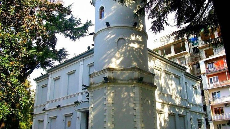 Башня здания технологического музея, Технологический музей, Батуми, Грузия
