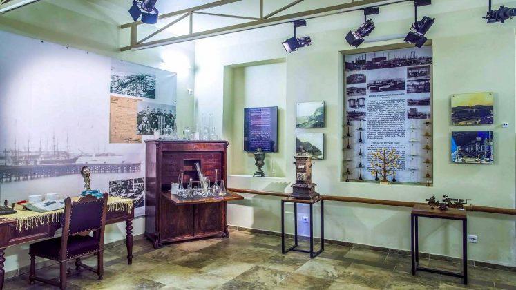 Мебель и оборудование предпринимателей, Технологический музей, Батуми, Грузия
