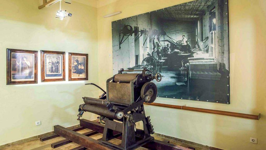Печатный станок, Технологический музей, Батуми, Грузия