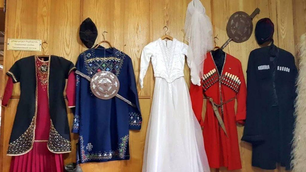 Национальные костюмы Грузии, Этнографический музей Борджгало, Батуми, Грузия
